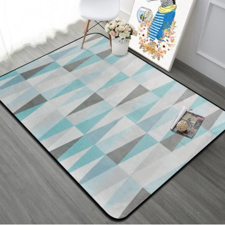 Tapis scandinave triangle