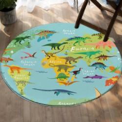 Tapis de jeu carte du monde