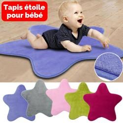 Tapis étoile pour bébé