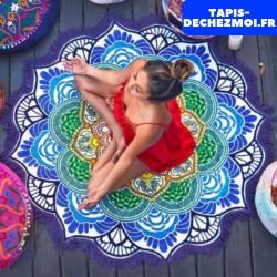 Tapis en Motif Mandala