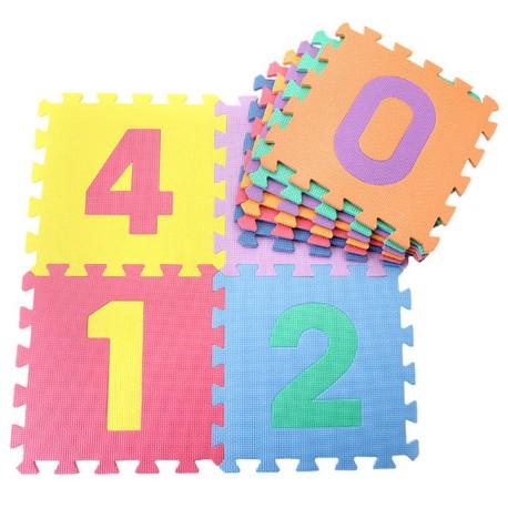 Tapis puzzle alphabet