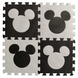 Tapis Puzzle Minnie / Mickey / Hello Kitty