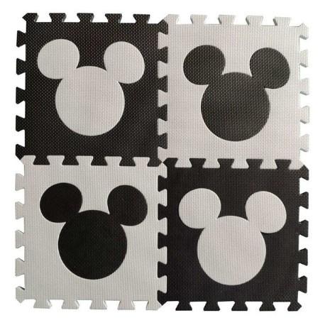 Tapis Puzzle Minnie / Mickey / Hello Kitty