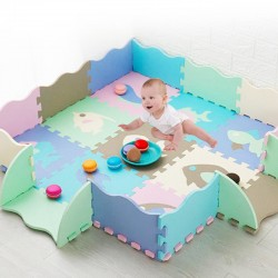 Tapis puzzle de protection