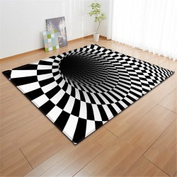 Tapis illusion d'optique