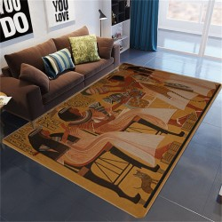 Tapis de salon egyptien