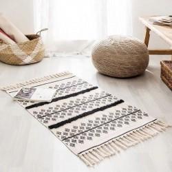 Tapis ethnique en coton