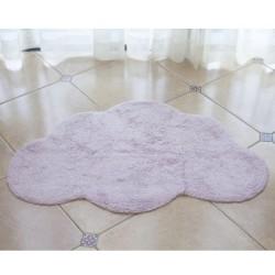 tapis nuage rose
